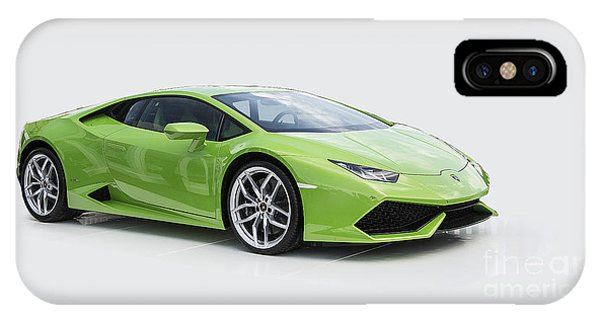 Green Huracan IPhone Case