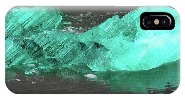 Green Iceberg IPhone Case