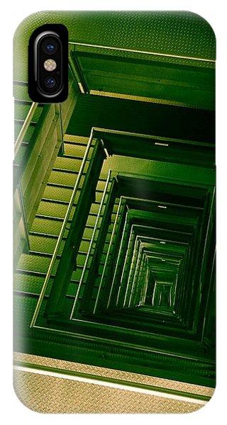 Green Infinity IPhone Case
