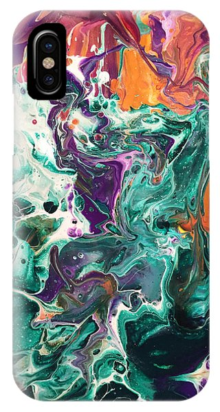 Green Lagoon IPhone Case