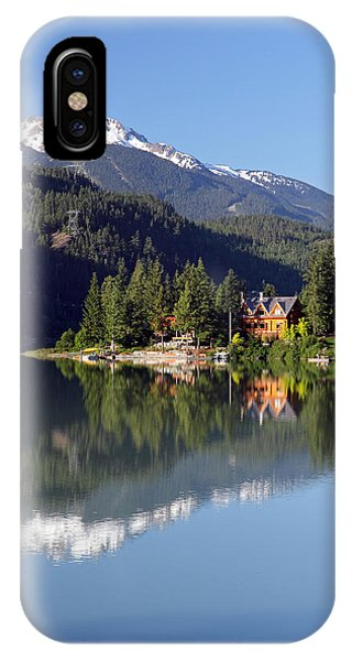 Green Lake Whistler  Phone Case by Pierre Leclerc Photography