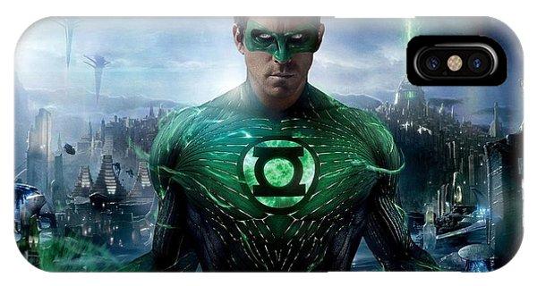 Green Lantern High Resolution IPhone Case