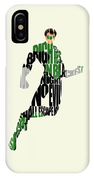 Green iPhone Case - Green Lantern by Inspirowl Design