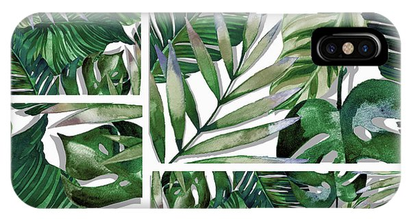 Leaf iPhone Case - Green Life by Mark Ashkenazi