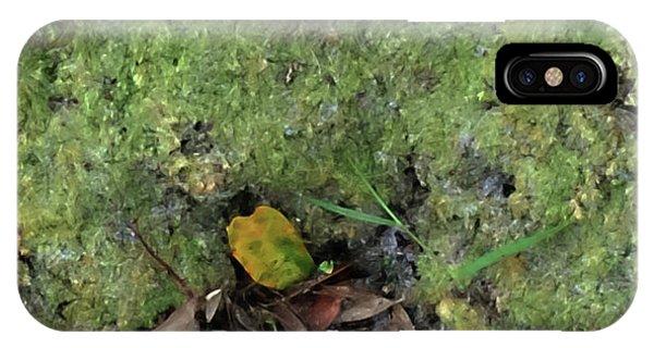 Green Man Spirit Photo IPhone Case