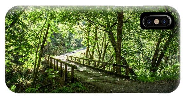 Green Nature Bridge IPhone Case