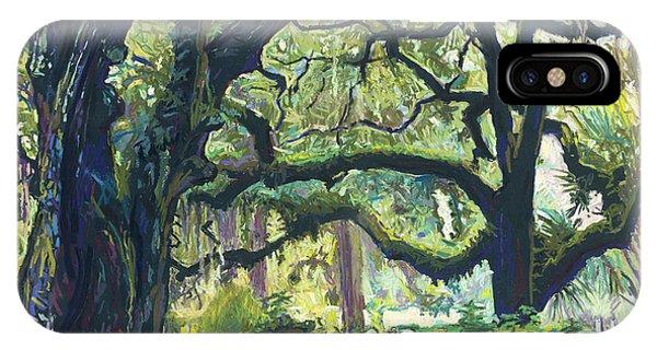 Green Oaks IPhone Case