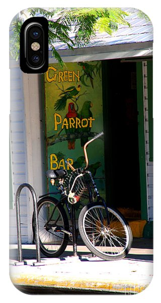 Green Parrot Bar Key West IPhone Case