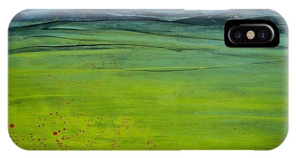 Green Pastures IPhone Case