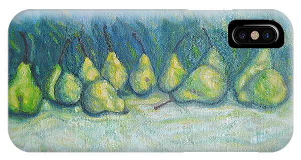 Green Pears IPhone Case