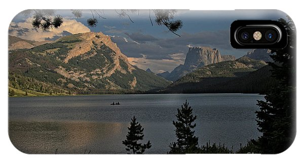 Green River Lake IPhone Case