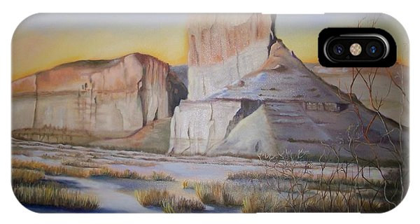 Green River Wyoming IPhone Case