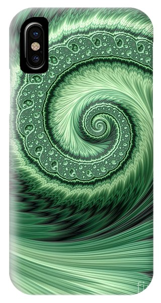 Green Shell IPhone Case