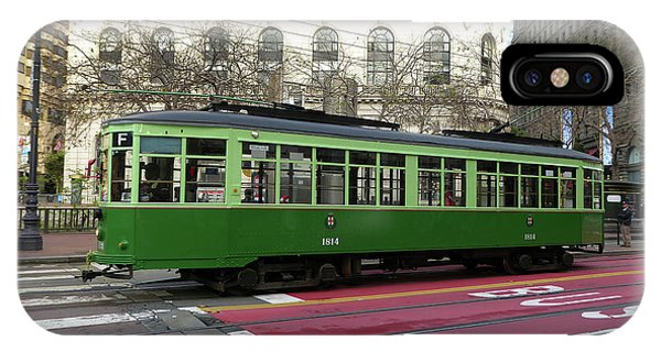 Green Trolley IPhone Case