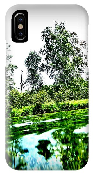 Green Waters IPhone Case
