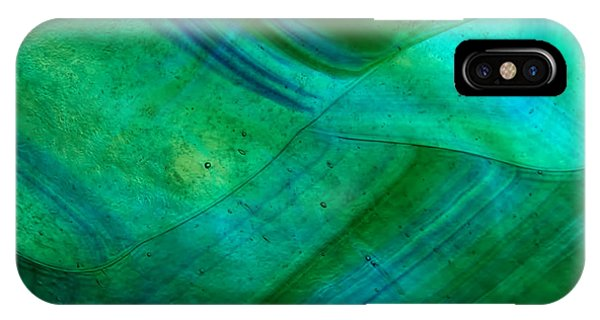 iPhone Case - Green Wave by Jared Shomo