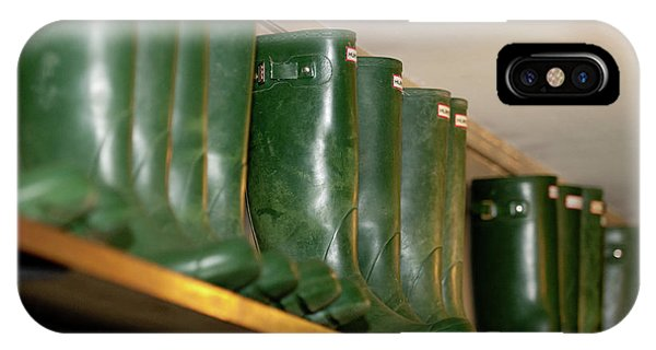 Green Wellies IPhone Case
