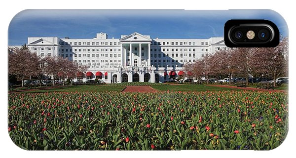 Greenbrier Resort IPhone Case