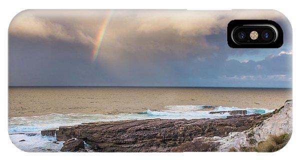 Green Cape Rainbow IPhone Case
