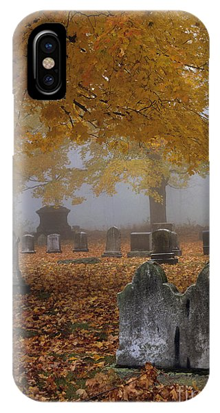 Greenlawn Cemetery - Mount Vernon New Hampshire IPhone Case