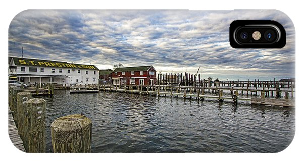 Greenport Dock IPhone Case