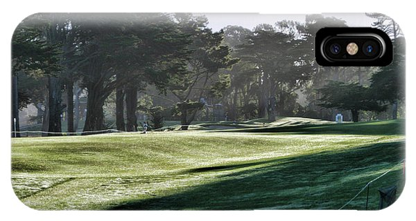 Greens Golf Harding Park San Francisco  IPhone Case