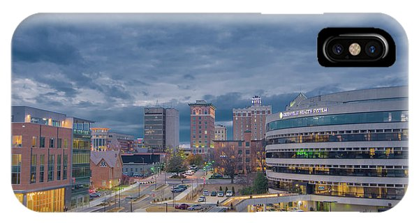 IPhone Case featuring the photograph Greenville Night 1 by David Waldrop