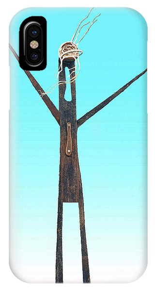 Greeter Figure IPhone Case