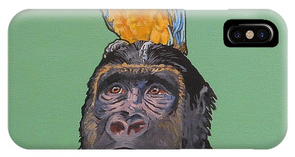 Gregory The Gorilla IPhone Case