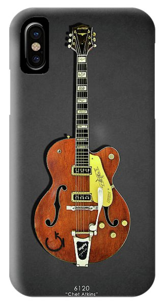 Electric Guitar iPhone Case - Gretsch 6120 1956 by Mark Rogan