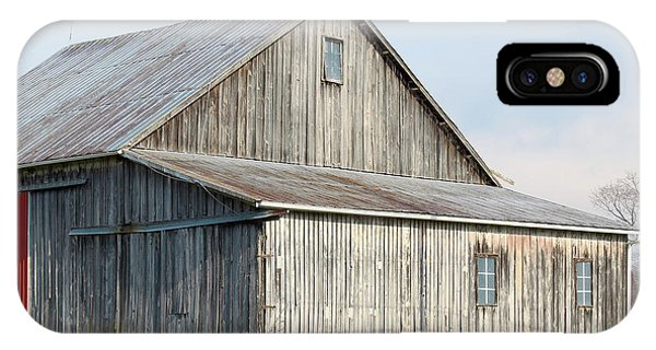 IPhone Case featuring the photograph Rustic Barn by Melinda Blackman