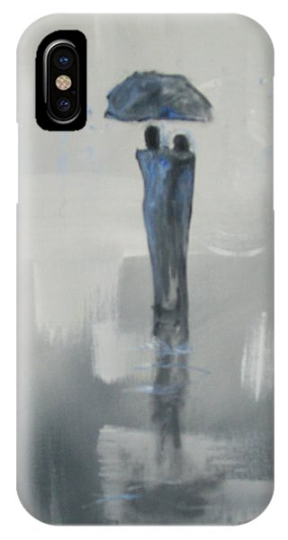Grey Day Romance IPhone Case