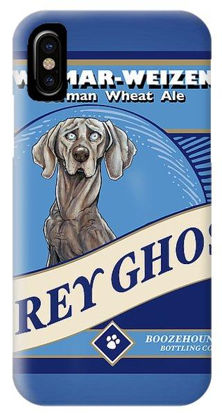 Grey Ghost Weimar-weizen Wheat Ale IPhone Case