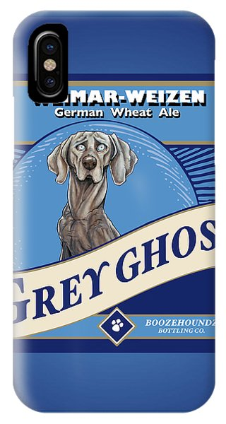 Grey Ghost Weimar-weizen Wheat Ale IPhone Case