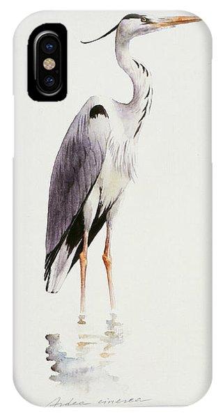 Grey Heron IPhone Case