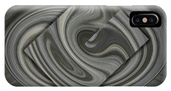 Grey On Grey IPhone Case