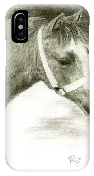 Grey Welsh Pony  IPhone Case