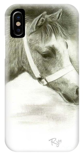 Grey Welsh Pony  IPhone Case