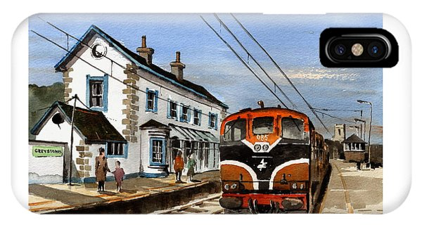 Greystones Railway Station Wicklow IPhone Case