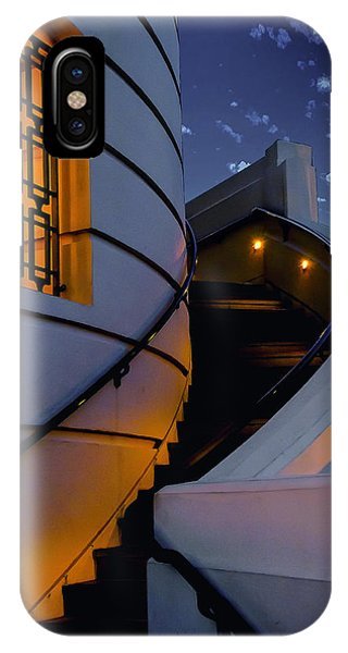 Griffith Observatory Side Entrance IPhone Case