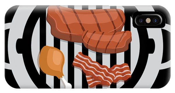 Barbeque iPhone Case - Grill On Funny Bbq Barbecue Gift by Michael S