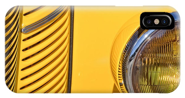 Grilled Chrome To Yellow IPhone Case