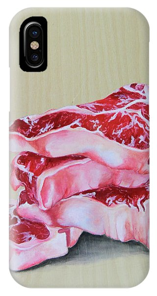 Protein iPhone Case - Grilling Memories by Lacey Hermiston