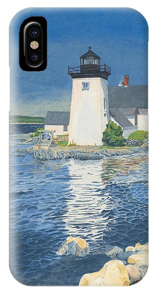 Grindle Point Light IPhone Case