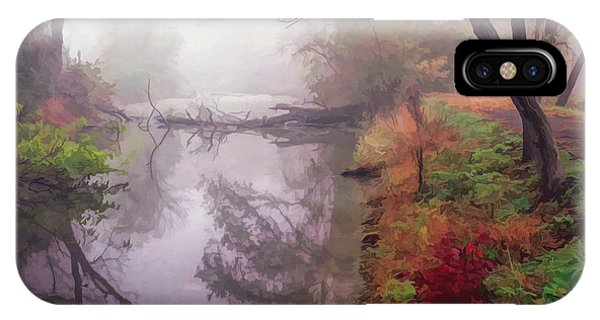 Grings Mill Fog 015 IPhone Case