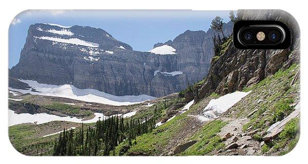 Grinnell Glacier Trail - Glacier National Park IPhone Case