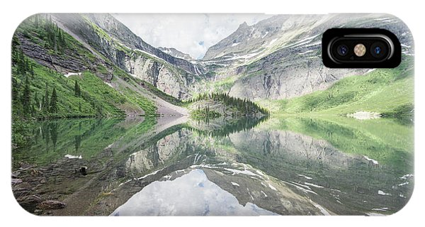 Grinnell Lake Mirrored IPhone Case