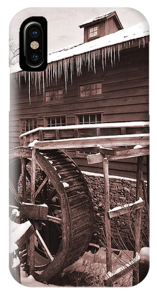 Grist Mill At Siver Dollar City IPhone Case