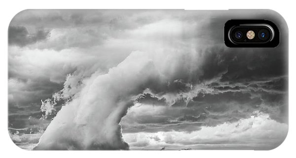Groom Storm Bw IPhone Case