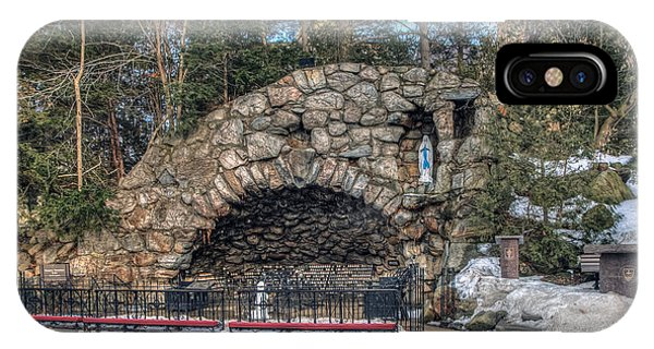 Grotto At Notre Dame University IPhone Case